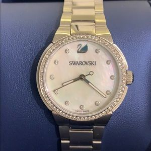Swarovski Watch w Diamond Accent